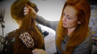 Relaxing Hair Brushing, Scalp Massage, Oils & Hair Play ASMR/Trinaural