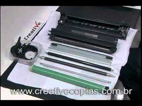 Vídeo Aula Recarga Toner HP C7115A