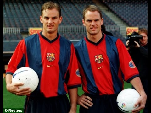 Football Legends ● Best Brothers In Football ● Frank & Ronald de Boer