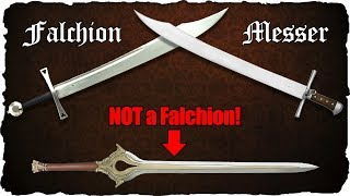 Falchion or Messer? - Definition and Differences