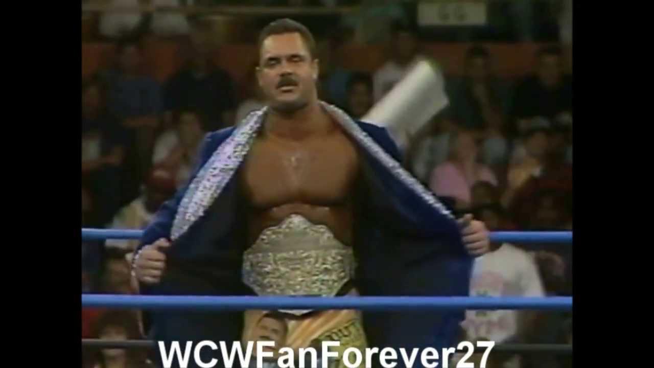 WCW Rick Rude 6th ThemeWith Custom Tron RIP YouTube