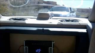 Honda Accord Kicker/Hifonics System, L7 12