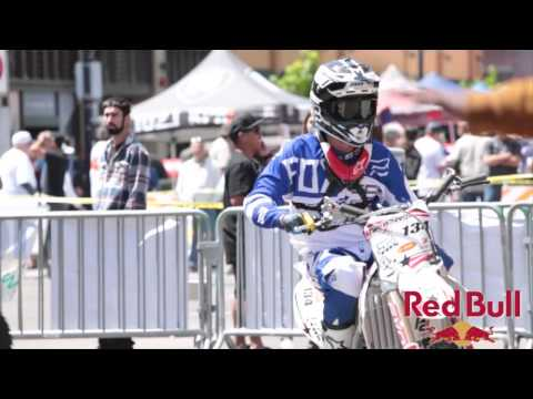 Red bull Freestyle Moto for San Diego Padres baseball  opening day 2013