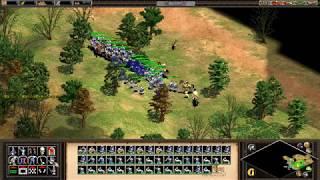 【実況】Age of Empires 2 アラリック すべての道は包囲された街に通ず 簡単