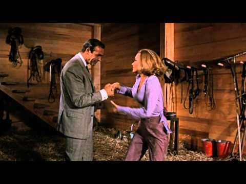 Goldfinger - James Bond & Pussy Galore Barn Scene Hd video