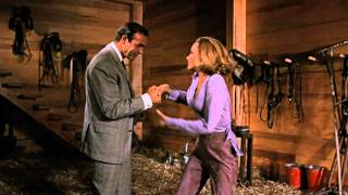 Goldfinger - James Bond & Pussy Galore Barn Scene HD