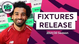 Favourable Starts for Liverpool amp Man City | 2019/20 FIXTURES RELEASED! | Fantasy Premier League
