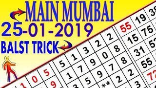 **25-01-2019**Main Mumbai matka fix opne trick today!!Malamal kalyan trick