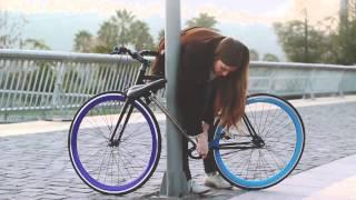 Այսպես անհնար է  գողանալ  հեծանիվը
