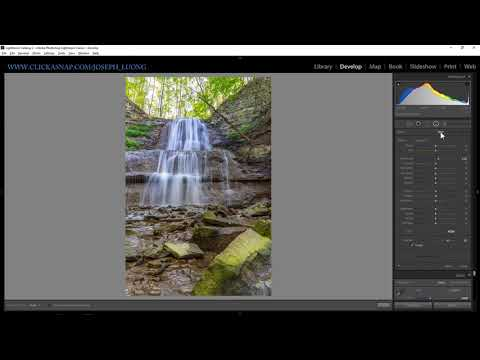 Lightroom tutorial ep15: Dodge and Burn with Radial Filter