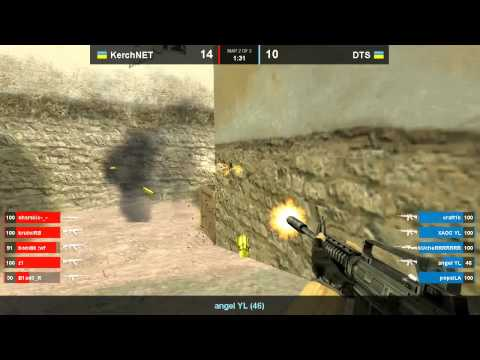 DTS vs KerchNET Game 2 CS 1 6 Final WCG UA