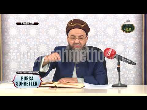 Cübbeli Ahmet Hoca Efendi ile Bursa Sohbetleri 4 Kasım 2017