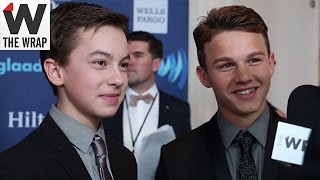 'The Fosters' Hayden Byerly, Gavin MacIntosh on Kiss Scene