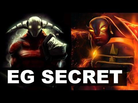 EG SECRET - EE vs Arteezy 2x Rapiers BEST Game! - Major Dota 2