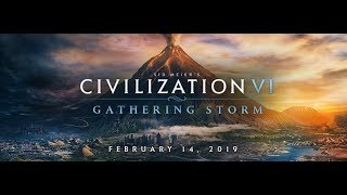 Esta Começar as Calamidades  # 4 Sid Meiers Civilization VI Gathering Storm