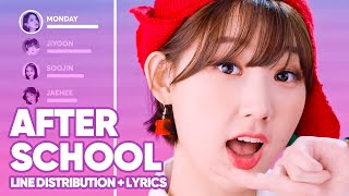 Download lagu Weeekly - After School (Line Distribution + Lyrics Color Coded) PATREON REQUESTED