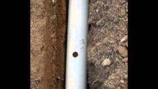Instalación para sistema de riego por goteo (parte 1)