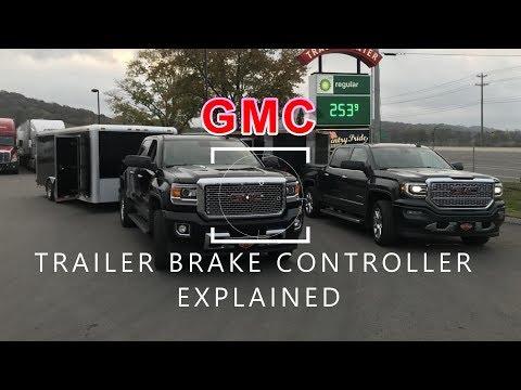 GMC Trailer Brake Controller Explained
