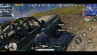 Encountered a Glitch in Pubg mobile - Me & the last standing ghost.