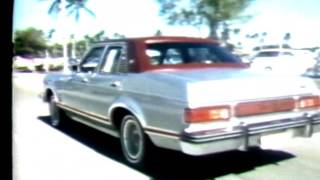 WTVJ / MIAMI - 1976 - Bob Mayer 'Behind The Wheel' Of 1976 Mercury Grand Monarch Ghia