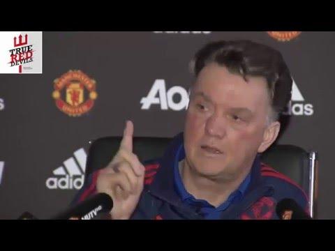 Uncut Van Gaal Press Conference; Mocks Media, Criticises Mata and Disagrees with Rooney