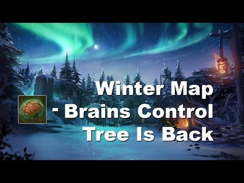 6.83 Naix Brains Control, Winter Map and Tree is Back Dota 2