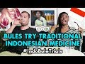 #IndoBuleTrials: Bules Try Traditional Indonesian Medicine - Jamu and Kerok!