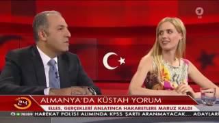 Wilma Elles Alman TV'sinde Erdoğan'ı bakın nasıl savundu