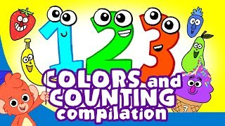 Learn Colors and Numbers | Counting and Colors for Kids compilation |  Club Baboo