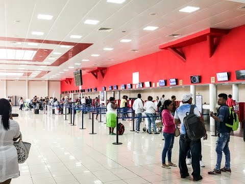 Terminal 3 Havana Cuba Jos Mart International Airport Hav