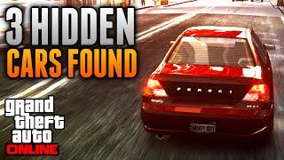 GTA 5 Online - 3 HIDDEN CARS FOUND IN GTA 5! Army Cavalcade, Super GT & Feroci (GTA 5 News)