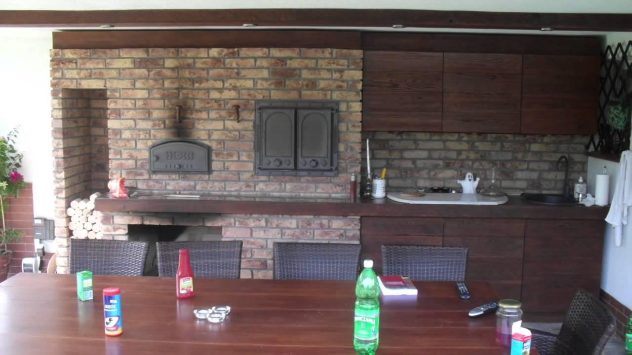 Piec chlebowy, wędzarnie  YouTube -> Kuchnia Projekt Stary Browar