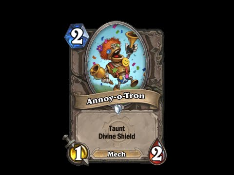 Annoy-o-tron - Hearthstone Text   Message   Alert Tones (links In Description) video