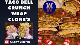 Taco Bell Crunch Wrap | weight watchers blue plan | MY WW #WeightWatchers