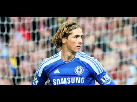 Fernando Torres Miss Vs Manchester United With Official Manchester United Anthem!! video