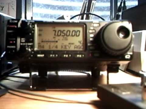 ICOM IC-703 Demo