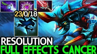 Resolution [Weaver] Full Effects Cancer Hard Carry Game 0 Death 7.21 Dota 2