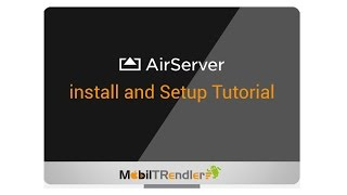 How to install airserver & Setting Tutorial iphone and ipad Airplay To PC