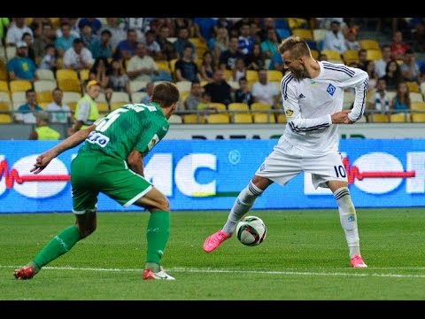 Andriy Yarmolenko goals - fantastic skills - dribbling. 2015/2016. Dynamo K.