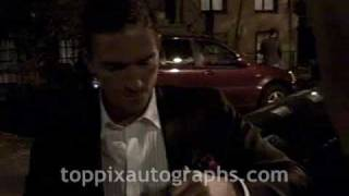 "Jim Caviezel - Signing Autographs at ""The Prisoner"" Premiere Afterparty in NYC"