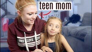 Teen pregnancy talk with my 7 yr old..