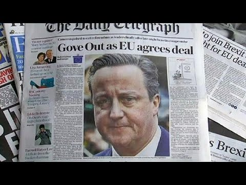 Cameron's EU reform deal gets mixed reactions from Britons