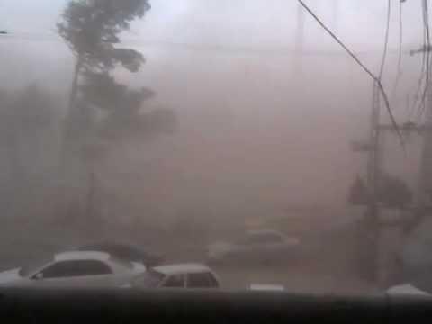 Powerful Wind Storm . Peshawar.3gp