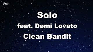 Download Lagu Solo feat. Demi Lovato - Clean Bandit Karaoke 【No Guide Melody】 Instrumental Gratis STAFABAND