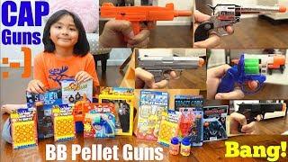 Toy Guns: Cap Guns, Airsoft Guns, BB Guns and More! Kids' Toy Gun Review. Role Play Toy Guns
