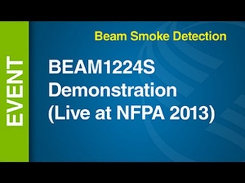 Beam -- BEAM1224S Demonstration (Live at NFPA 2013)