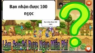 [ Ngọc Rông Online ]Nhận 100 Ngọc Trong 5s Không Thể Tin Được.