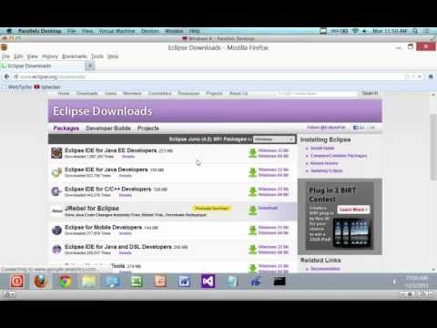 How to install Eclipse on Windows 8