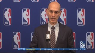 NBA Commissioner Silver, silent on Vegas expansion