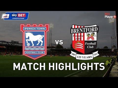 YouTube: Ipswich Town 1-1 Brentford